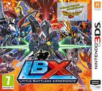Portada oficial de Little Battlers eXperience para Nintendo 3DS