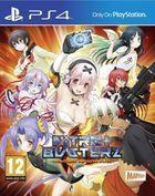 Portada oficial de de Nitroplus Blasterz: Heroines Infinite Duel para PS4