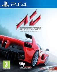 Portada oficial de Assetto Corsa para PS4