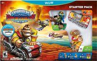 Portada oficial de Skylanders SuperChargers para Wii U