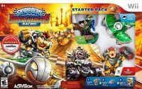 Portada oficial de Skylanders SuperChargers para Wii