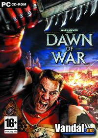 Portada oficial de Warhammer 40.000: Dawn of War para PC