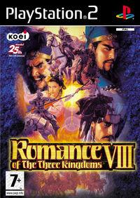 Portada oficial de Romance of the Three Kingdoms VIII para PS2