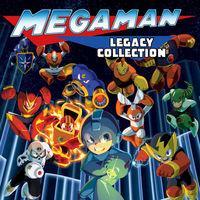 Portada oficial de Mega Man Legacy Collection para PS4
