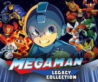 Portada oficial de Mega Man Legacy Collection para Nintendo 3DS