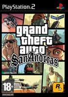Portada oficial de de Grand Theft Auto: San Andreas para PS2
