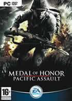 Portada oficial de de Medal of Honor: Pacific Assault para PC