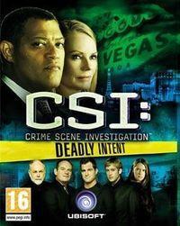Portada oficial de CSI: Oscuras Intenciones para PC