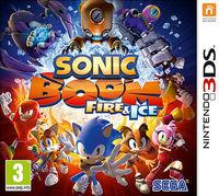 Portada oficial de Sonic Boom: Fuego y Hielo para Nintendo 3DS