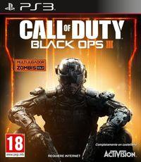 Portada oficial de Call of Duty: Black Ops III para PS3