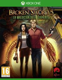 Portada oficial de Broken Sword 5: La maldición de la serpiente para Xbox One