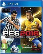 Portada oficial de de Pro Evolution Soccer 2016 para PS4