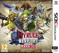 Portada oficial de Hyrule Warriors: Legends para Nintendo 3DS