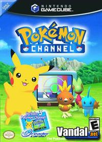Portada oficial de Pokémon Channel para GameCube