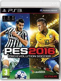 Portada oficial de Pro Evolution Soccer 2016  para PS3
