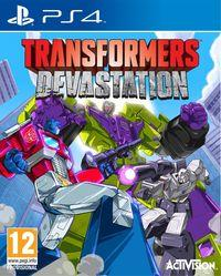 Portada oficial de Transformers: Devastation para PS4