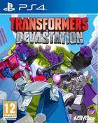 Portada oficial de de Transformers: Devastation para PS4