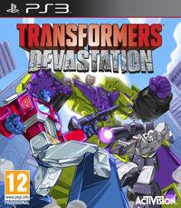 Portada oficial de Transformers: Devastation para PS3