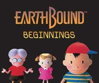 Portada oficial de EarthBound Beginnings CV para Wii U