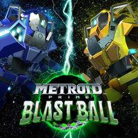 Portada oficial de Metroid Prime: Blast Ball para Nintendo 3DS