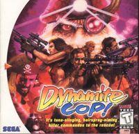 Portada oficial de Dynamite Deka 2 para Dreamcast