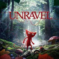 Portada oficial de Unravel para PS4