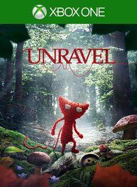Portada oficial de Unravel para Xbox One