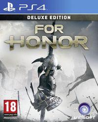 Portada oficial de For Honor para PS4