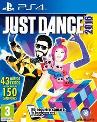 Portada oficial de Just Dance 2016 para PS4