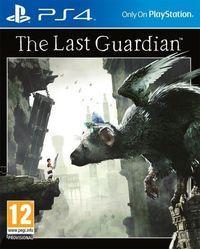Portada oficial de The Last Guardian para PS4
