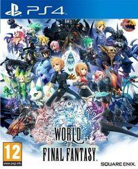Portada oficial de World of Final Fantasy para PS4