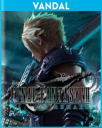 Portada oficial de Final Fantasy VII Remake para PS4