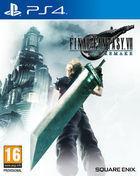 Portada oficial de de Final Fantasy VII Remake para PS4