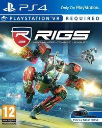 Portada oficial de RIGS: Mechanized Combat League para PS4
