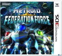 Portada oficial de Metroid Prime: Federation Force para Nintendo 3DS
