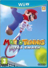 Portada oficial de Mario Tennis: Ultra Smash para Wii U