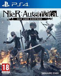 Portada oficial de NieR: Automata para PS4