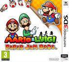 Portada oficial de de Mario & Luigi: Paper Jam Bros. para Nintendo 3DS