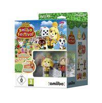 Portada oficial de Animal Crossing: amiibo Festival para Wii U