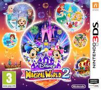 Portada oficial de Disney Magical World 2 para Nintendo 3DS