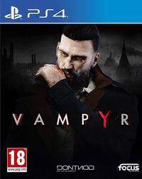 Portada oficial de Vampyr para PS4