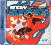 Portada oficial de Snow Surfers para Dreamcast