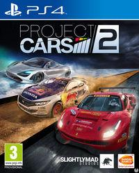 Portada oficial de Project CARS 2 para PS4