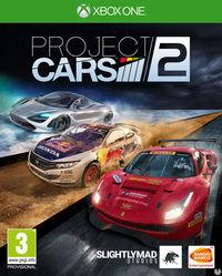 Portada oficial de Project CARS 2 para Xbox One