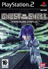 Portada oficial de Ghost in the Shell: Stand Alone Complex para PS2