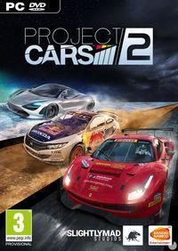 Portada oficial de Project CARS 2 para PC
