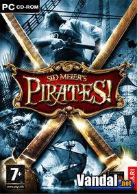 Portada oficial de Sid Meier's Pirates! para PC