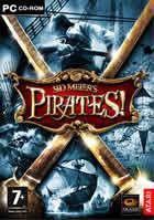 Portada oficial de de Sid Meier's Pirates! para PC