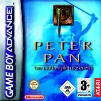 Portada oficial de Peter Pan para Game Boy Advance