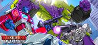 Portada oficial de Transformers: Devastation para PC